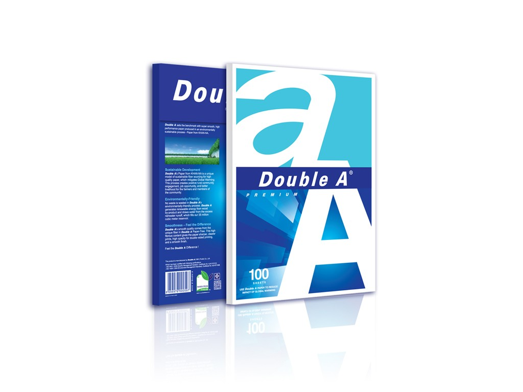 DoubleA - 80gsm A4 Copy Paper (100 Sheets)