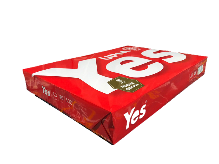 UPM YES RED 80GSM A3