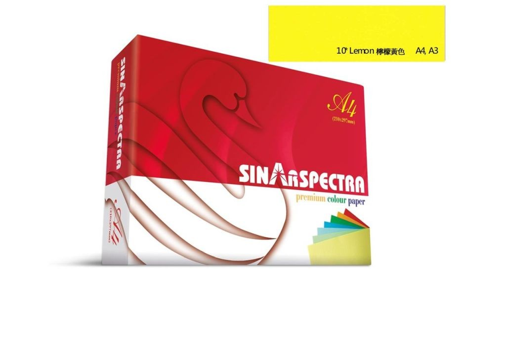 Sinar Color Copy Paper - A4 80gsm