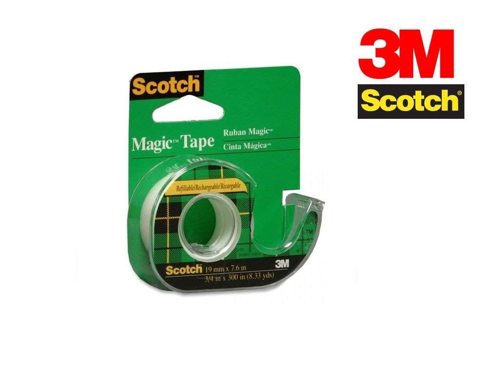Scotch - 105 - Magic Tape w/ Dispenser 3/4inx300in