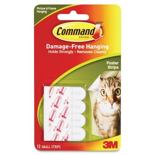 3M - 17024 - Command Poster Strips 1 lb