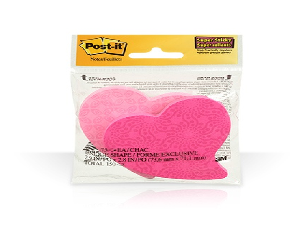 3M - 7350HRT - Post-It Daisy Shape Die Cut Note 2s