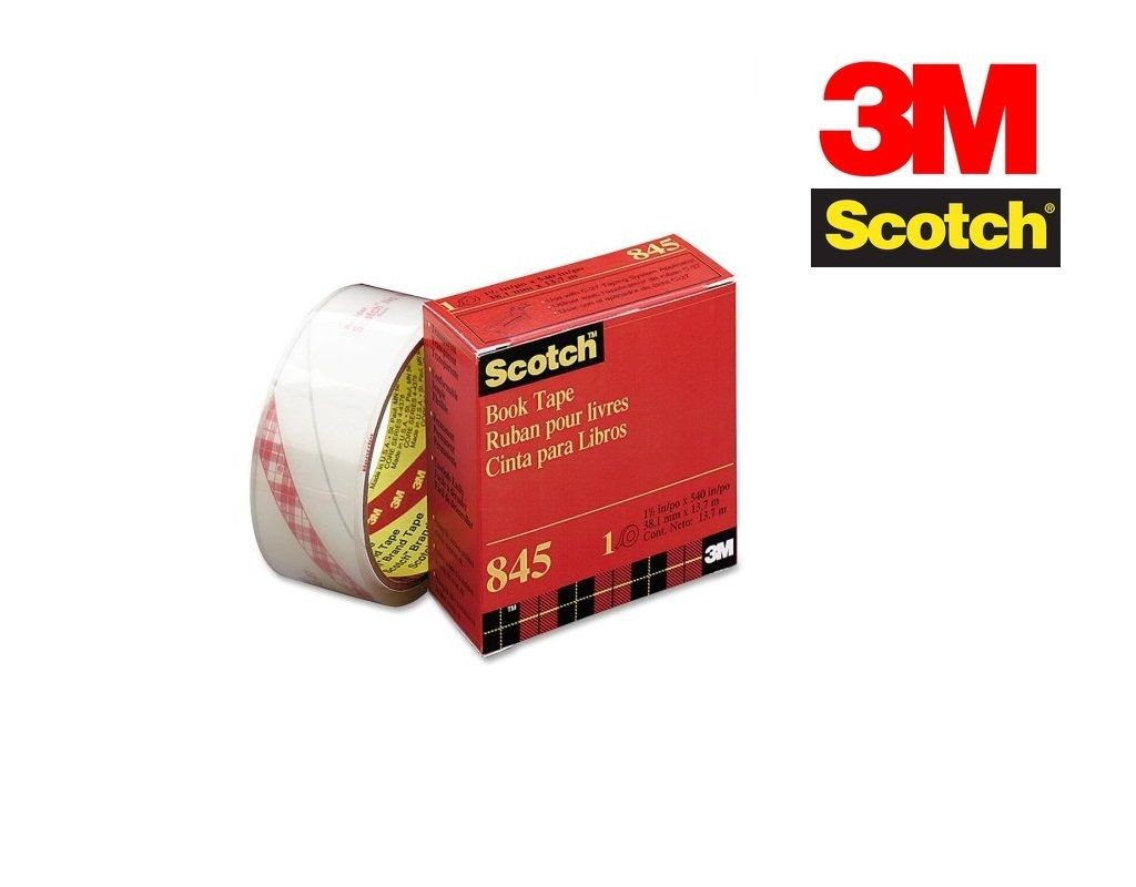 Scotch - 845 - Book Tape 1.5inx15yds