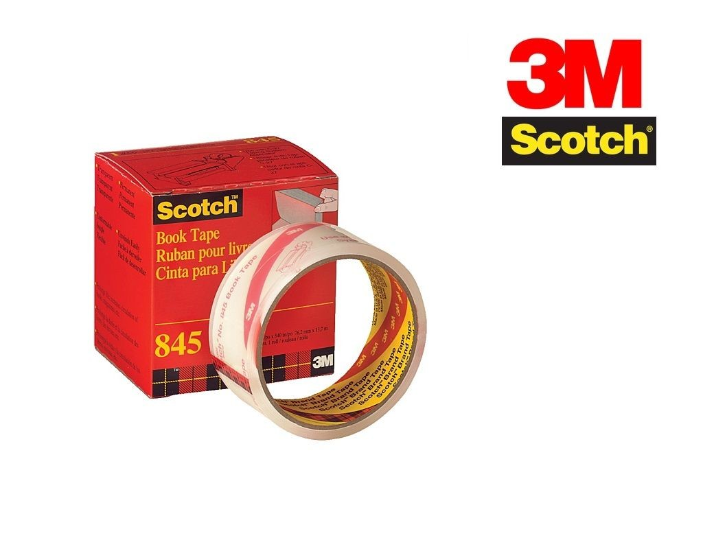 Scotch - 845 - Book Tape 4inx15yds