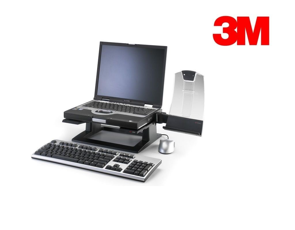 3M - LX500 - Adjustable NoteBook Riser