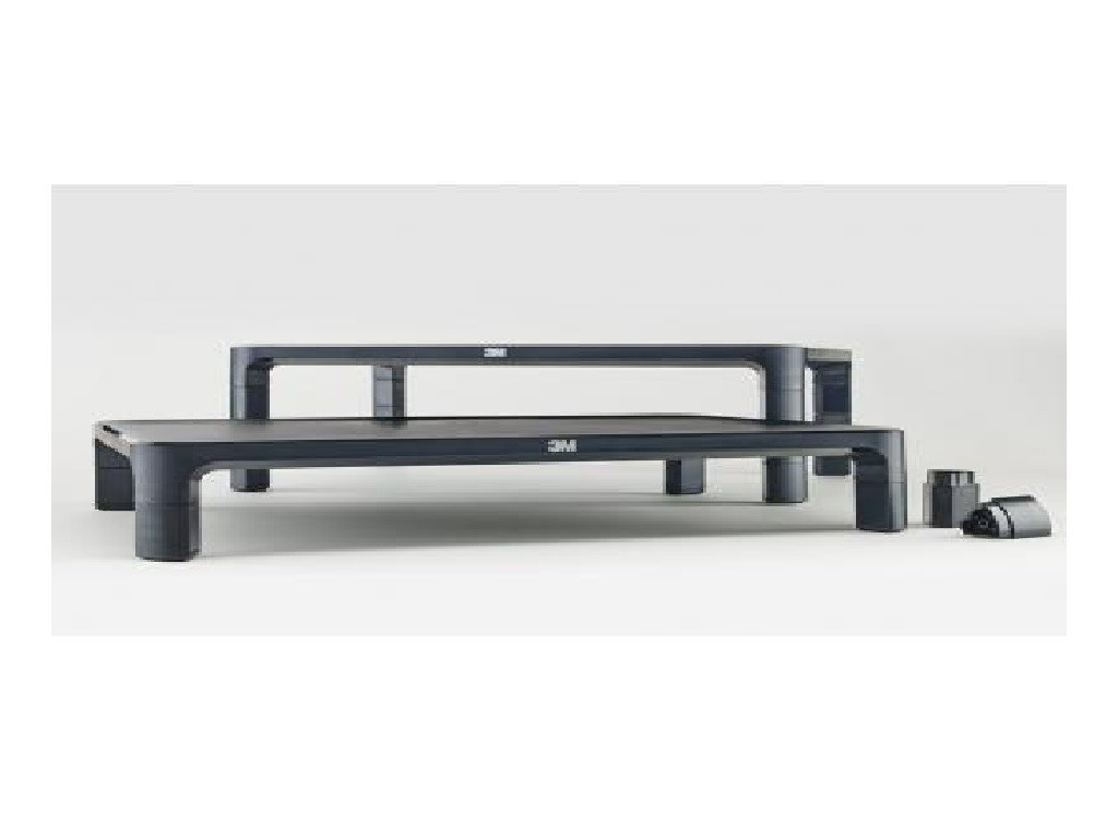 3M - MS85B - Adjustable Monitor Stand