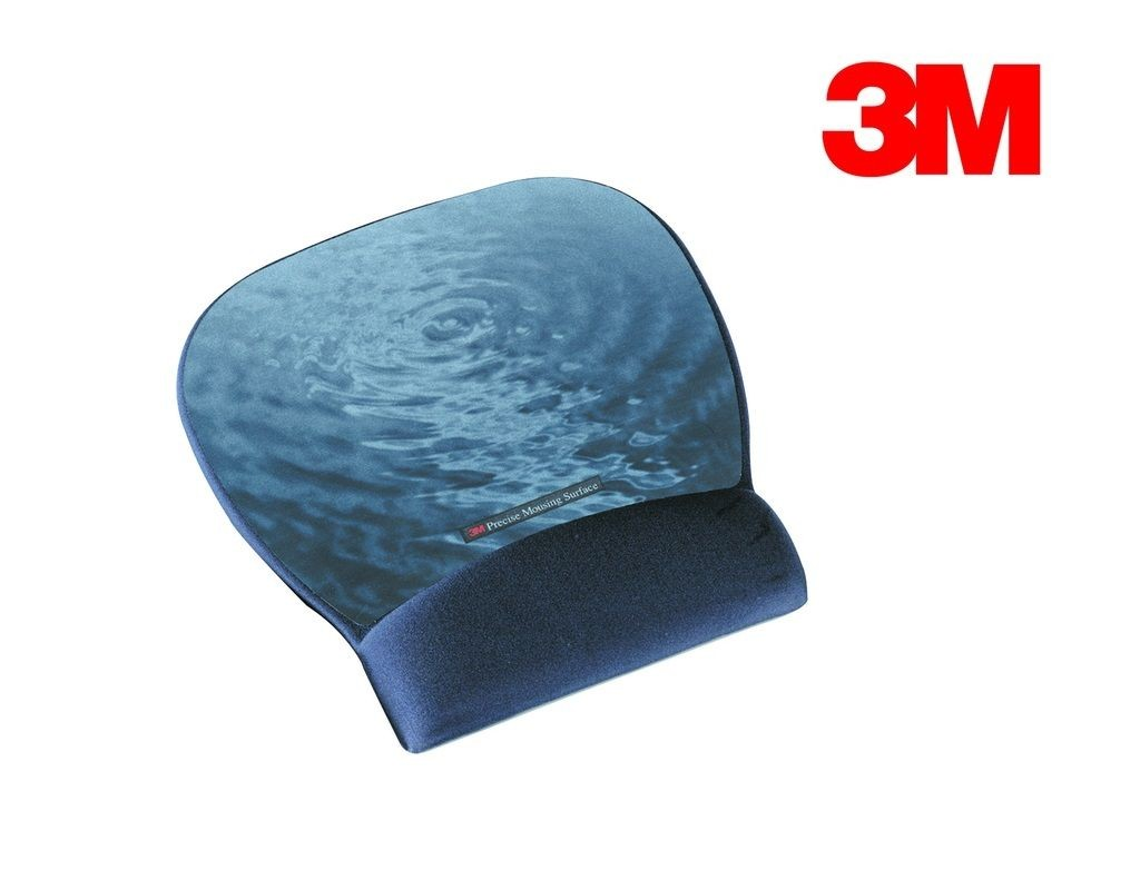 3M - MW311BE - Mouse Pad w/Gel Rest