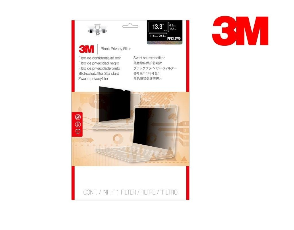 3M - PF13.3W9 - LCD Privacy Filter Wide