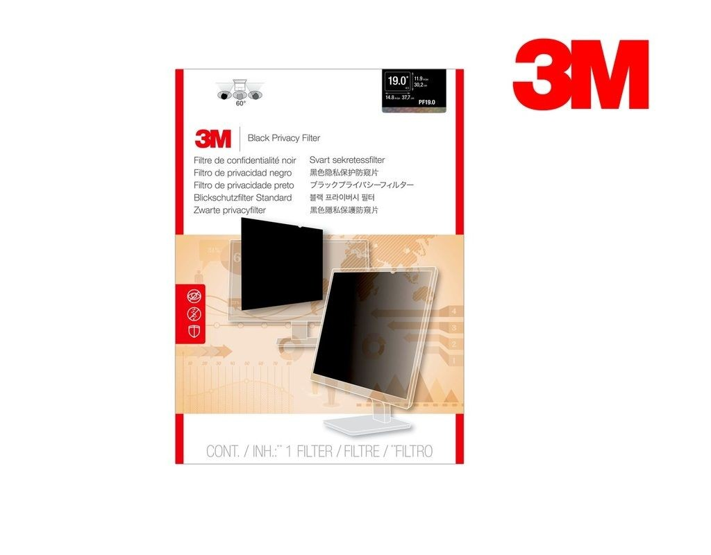 3M - PF19.0 - LCD Privacy Filter