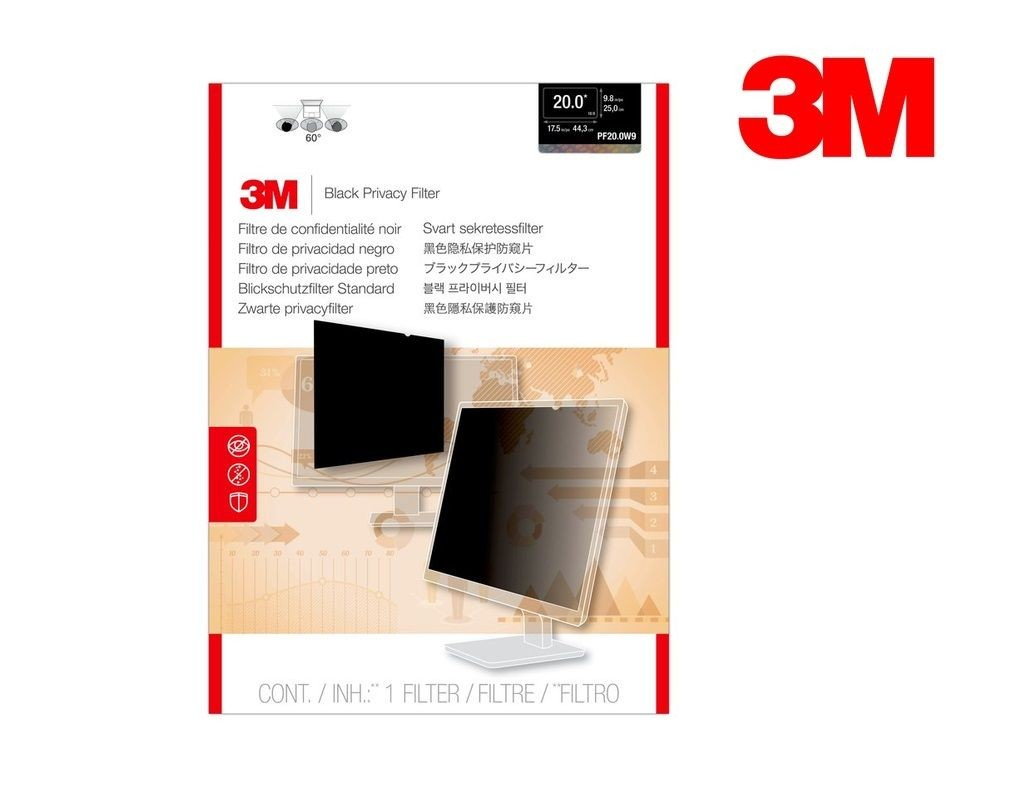 3M - PF20.0W9 - LCD Privacy Filter Wide