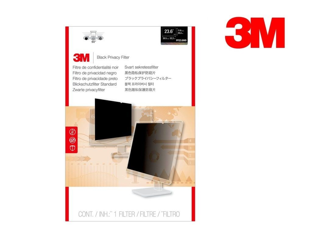 3M - HC23.6W9B - High Clarity Privacy Filter Wide