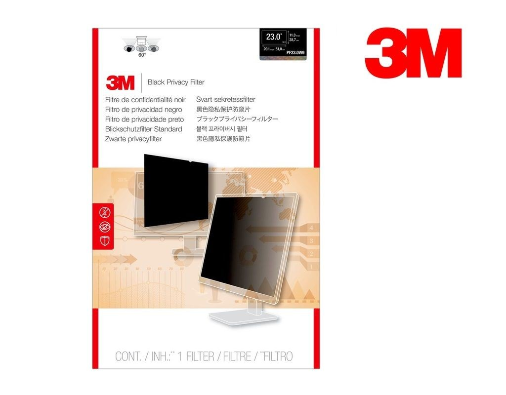 3M - PF23.0W9 - LCD Privacy Filter Wide