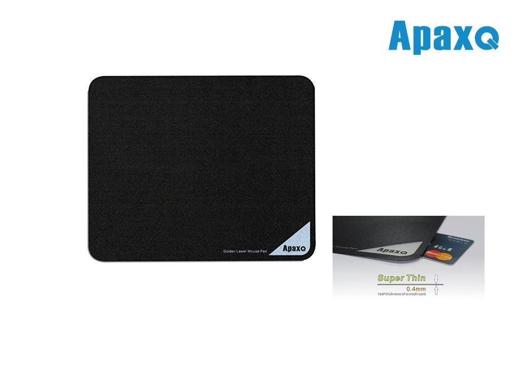 ApaxQ - MP001-B - Ultra Slim Mouse Pad