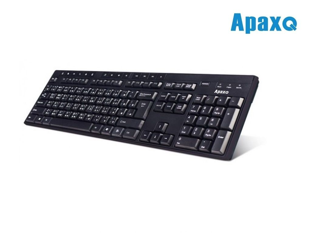 ApaxQ - KB-129-B - USB Multimedia Keyboard
