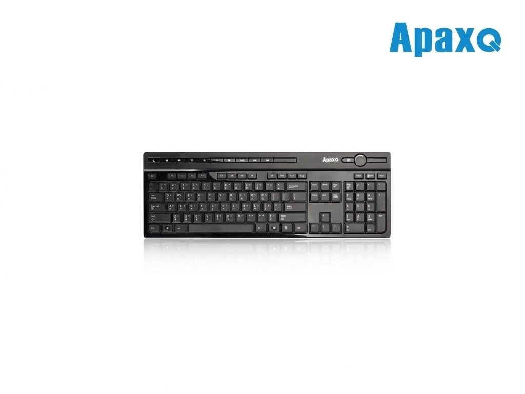 ApaxQ - KB-708-B - Slim Touch Multimedia Keyboard
