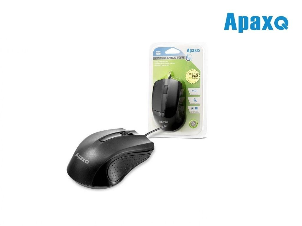 ApaxQ - M39-B - Economic Optical Mouse
