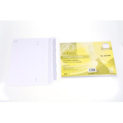 A-Tech - E-3219PK - Self-Adhesive White Envelope 20s