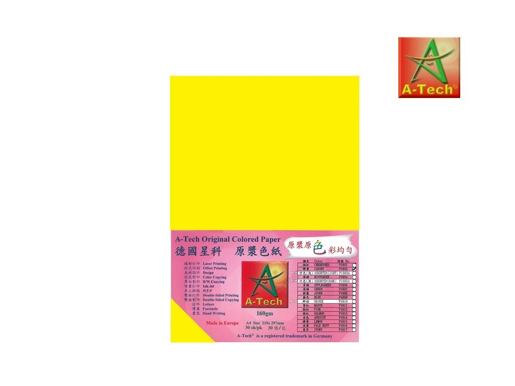 A-Tech - P1602 - Colour Paper 160G