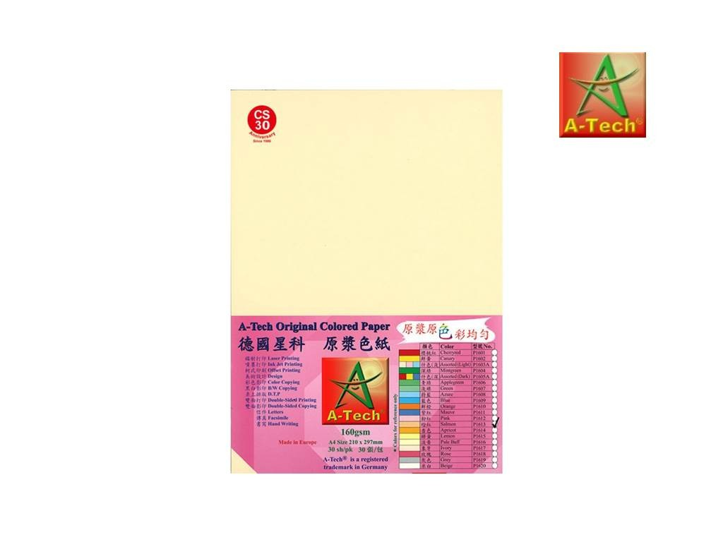 A-Tech - P1613 - Colour Paper 160G