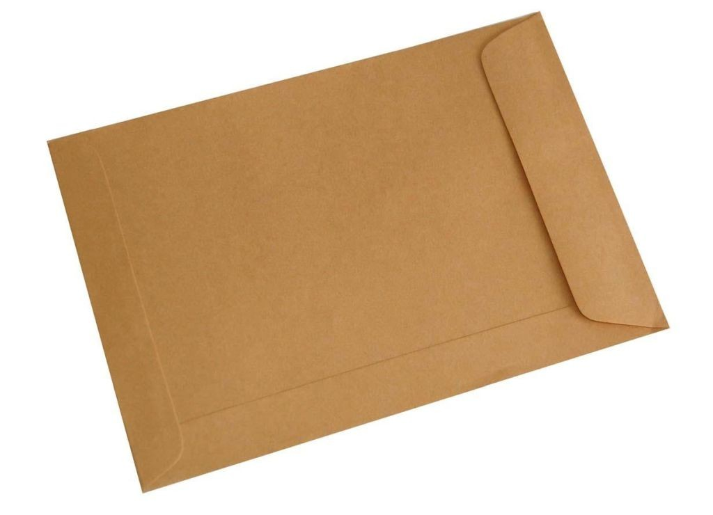 (m)Bubble Brown Envelope without String 7x10in