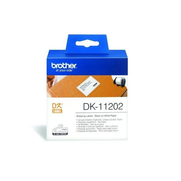 Brother - DK-11202 - Shipping Name Badge Label