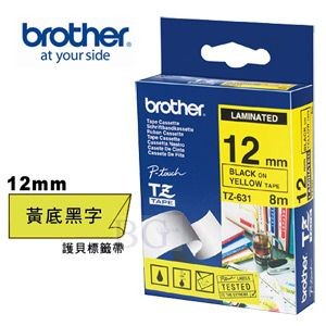 Brother - TZ-631 - Tape 12mm
