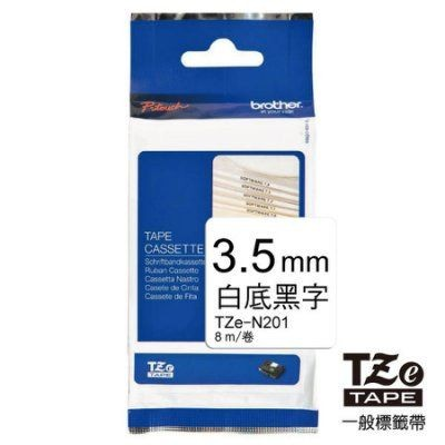Brother - TZ-N201 - Tape 3.5mm