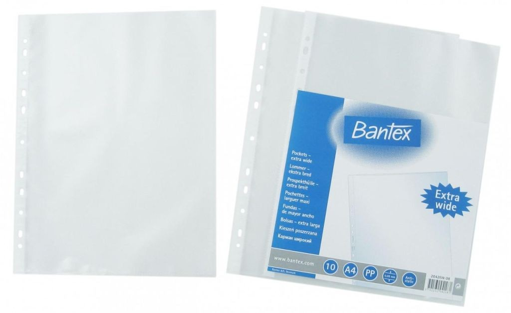Bantex - 2042EW - Copy Safe A4 0.09mm 100s