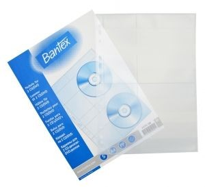 Bantex - 2074 - PP-CD Pocket A4 50s