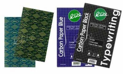 Elite - ECP500TW - Carbon Paper for Hand Writing F4  100pc/box