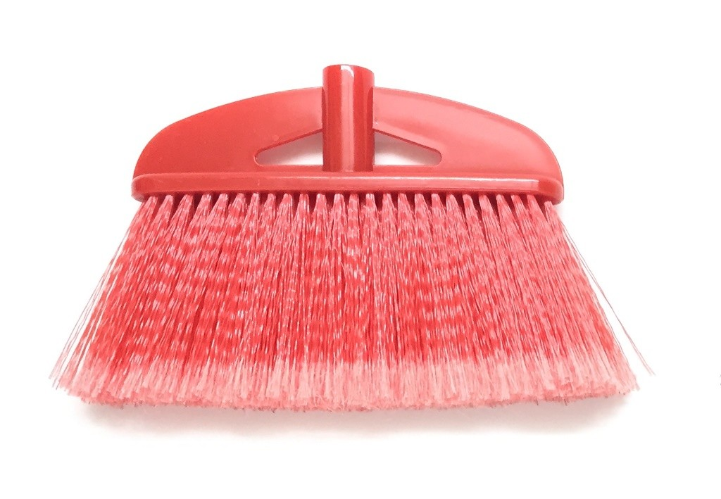Nylon soft broom head