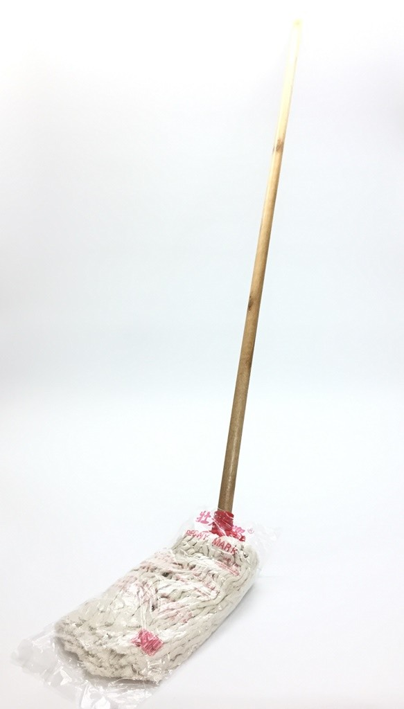 10 tael Peony Mark  - Push Fit Mop with wood handle
