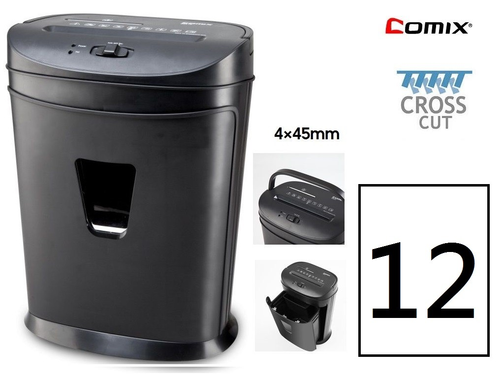 Comix - S2812 - Cross Cut Shredder