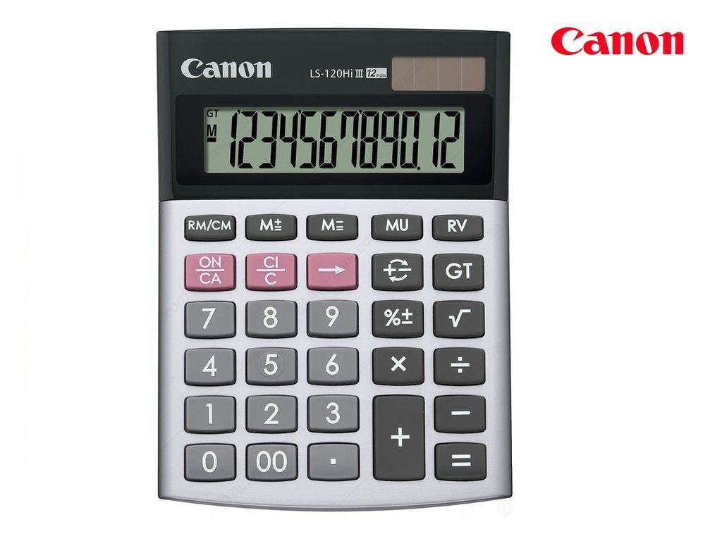 Canon - LS-120HI-111 - Calculator 12-Digits