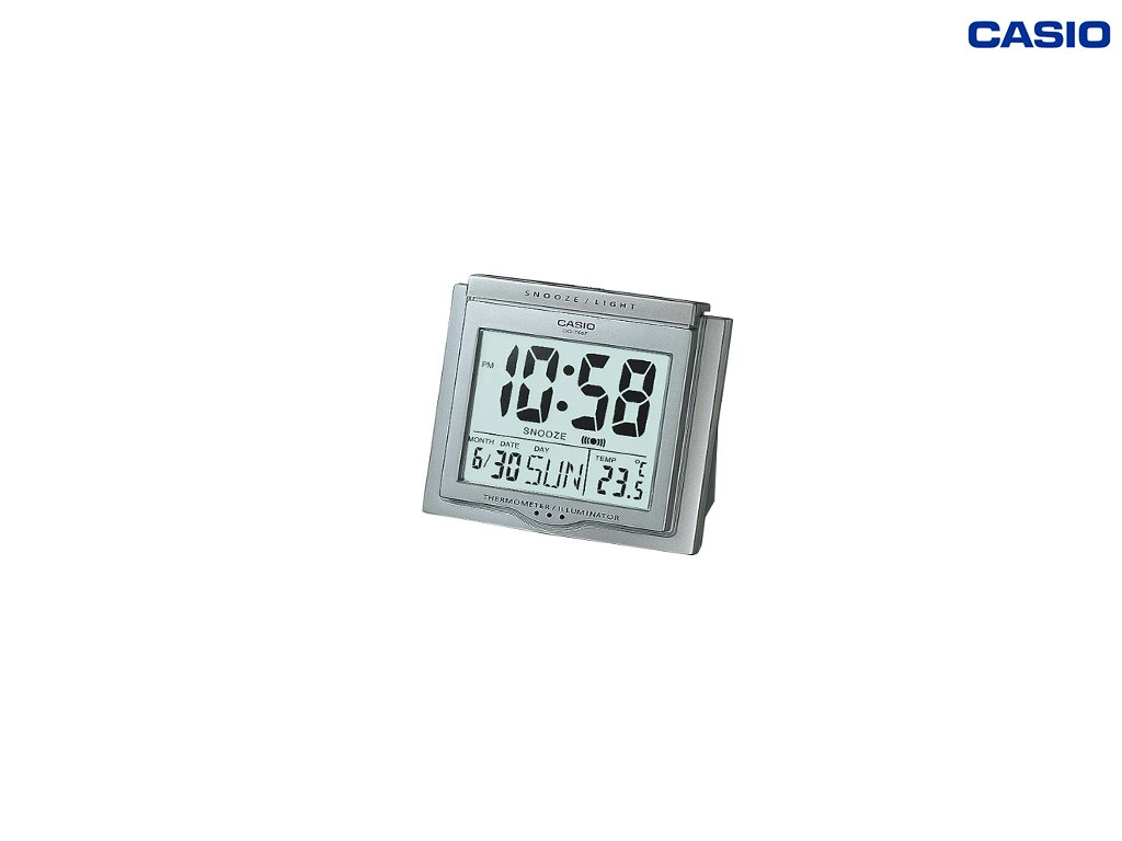 Casio - DQ-750F-8 - Digital Desktop Clock