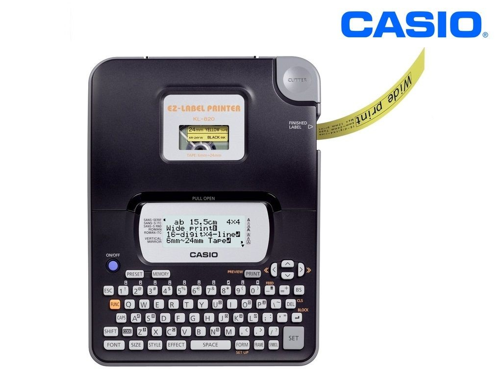 Casio - KL-820 - Label Printer 16-Digits