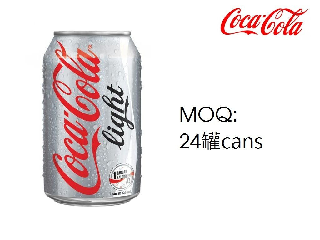 (m)Cola - Light Coca-Cola 330ml 6s