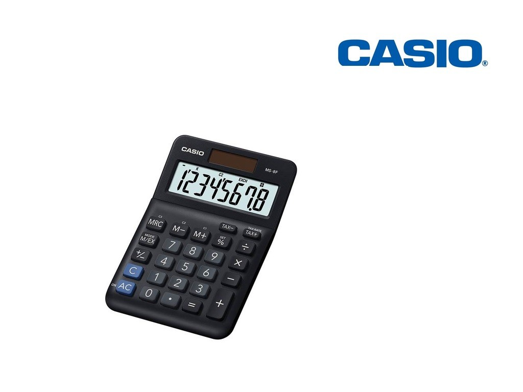 Casio - MS-8F - Desk Calculator 8-Digits