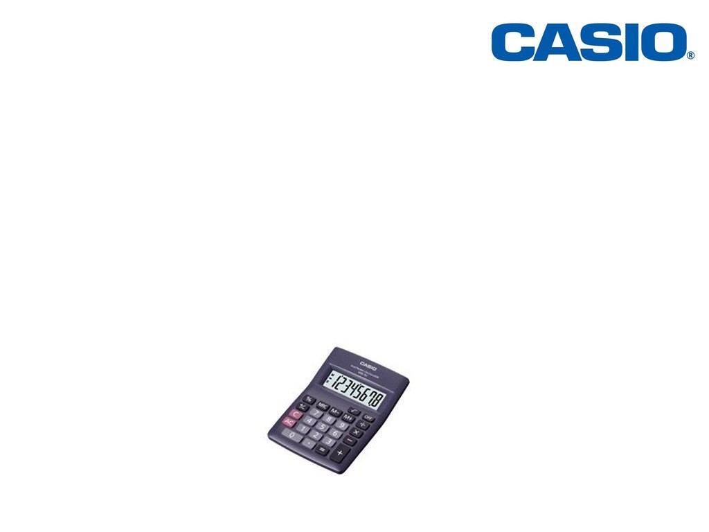 Casio - MW-5V - Mini Desk Calculator 8-Digits