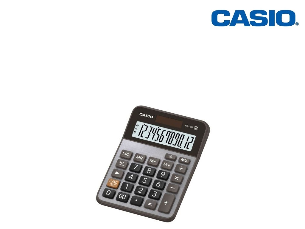 Casio - MX-120B - Desk Calculator 12-Digits
