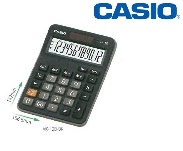 Casio - MX-12B - Desk Calculator 12-Digits