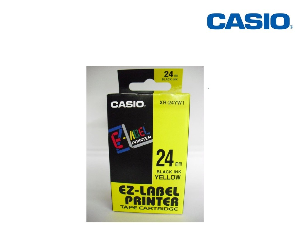 Casio - XR-24YW1 - 24mm Labelling Tape
