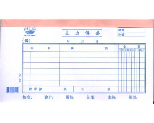 Account Voucher Chinese - 306 - Payment