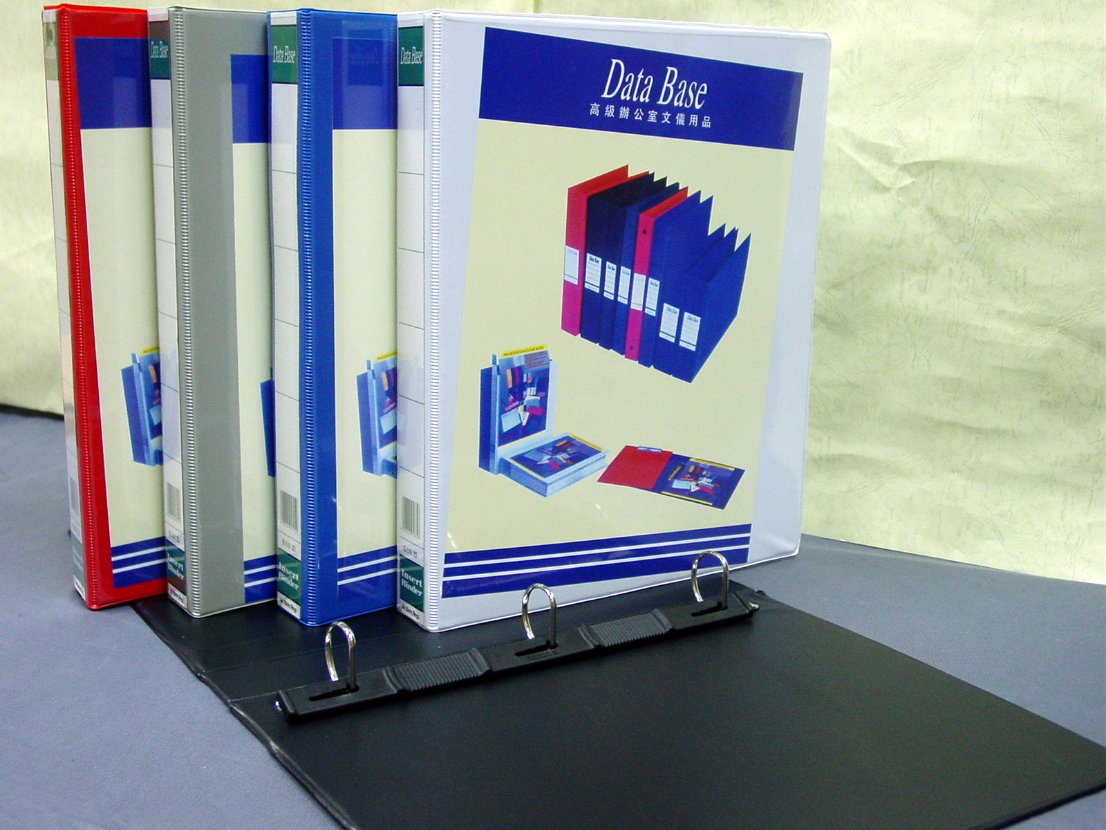 DataBase - IB-518 - 3D Ring Insert Binder A4 25mm
