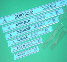 DataBase - AR-103 - Plastic Ruler 12in