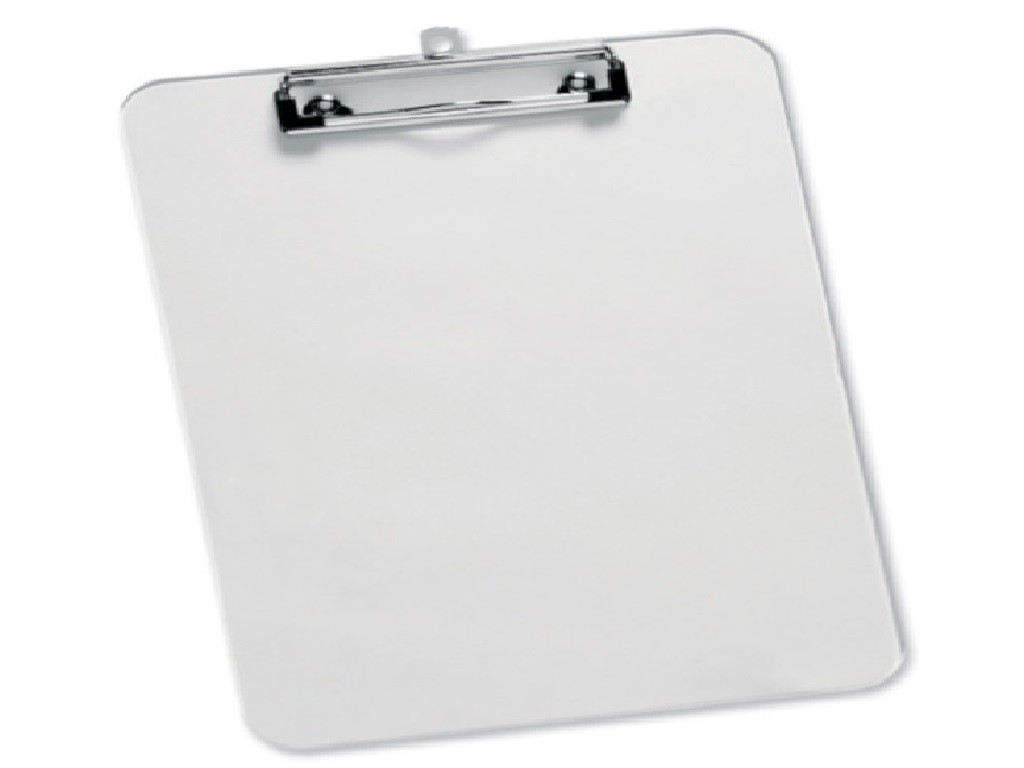 Database - A4 Plastic Clip Board