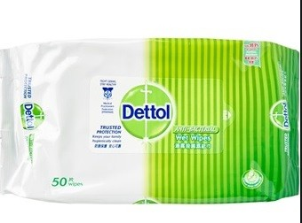 Dettol - Anti Bacteria Wipes 50s