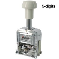 Deskmate - 05009 - Numbering Machine 9 Digit