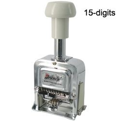 Deskmate - 05015 - Numbering Machine 15 Digit