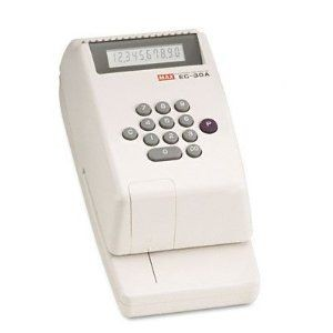 Max - EC30A - Checkwriter